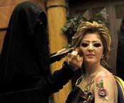 Toneladas de maquillaje en Arabia Saudí