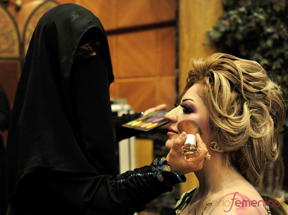 Las mujeres saudíes, de las más coquetas