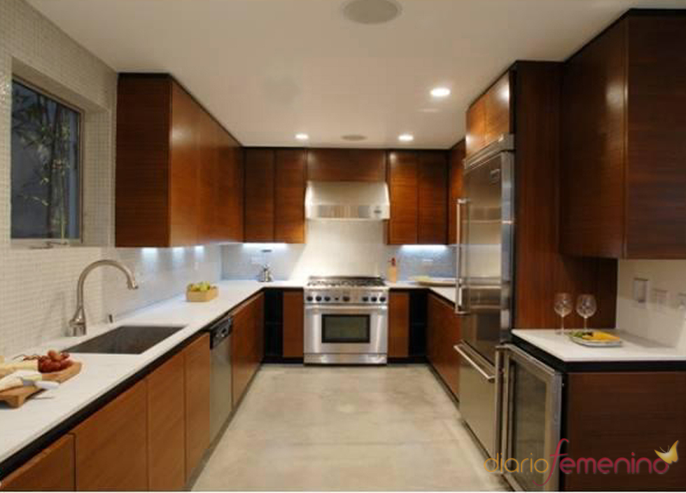 cocina de la nueva casa de lindsay lohan