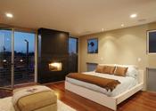 Dormitorio de la nueva casa de Lindsay Lohan