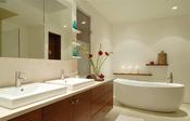 Cuarto de baño de la nueva casa de Lindsay Lohan