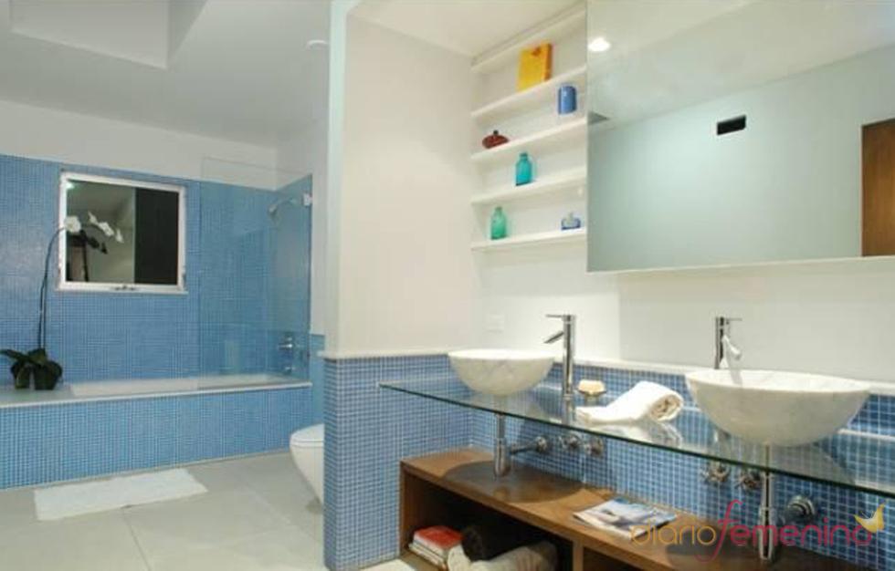 Cuarto de baño de la casa de Lindsay Lohan