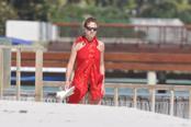 Miranda Rijnsburger, vacaciones de Navidad en Punta Cana