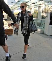 Lindsay Lohan se apunta al gimnasio