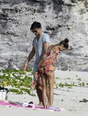 Olivia Palermo de vacaciones en un isla exclusiva del Caribe