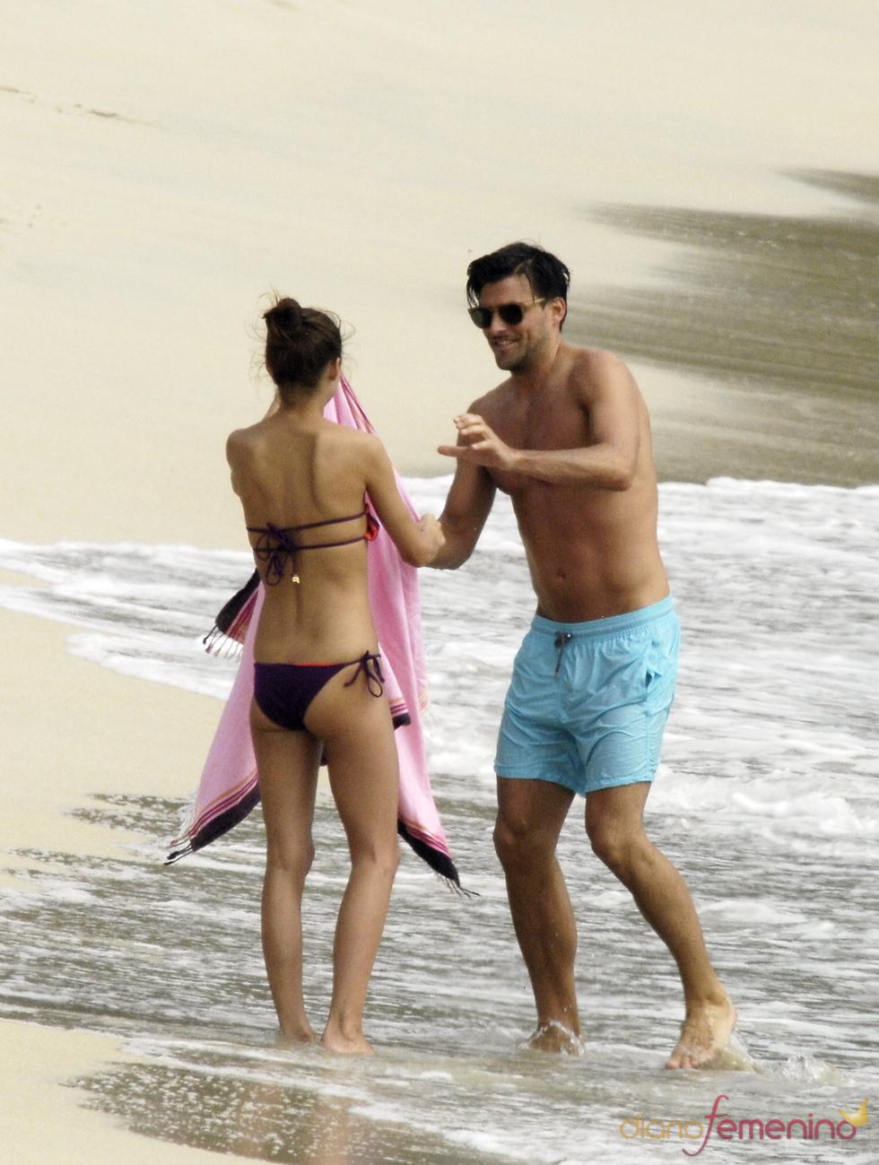 Olivia Palermo y su novio de vacaciones románticas en el Caribe