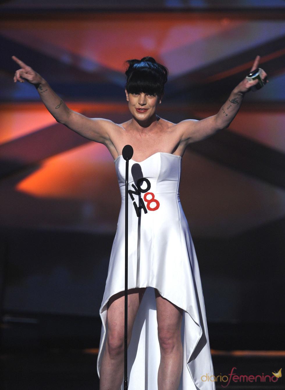 Pauley Perrette en el People's Choice Awards 2011
