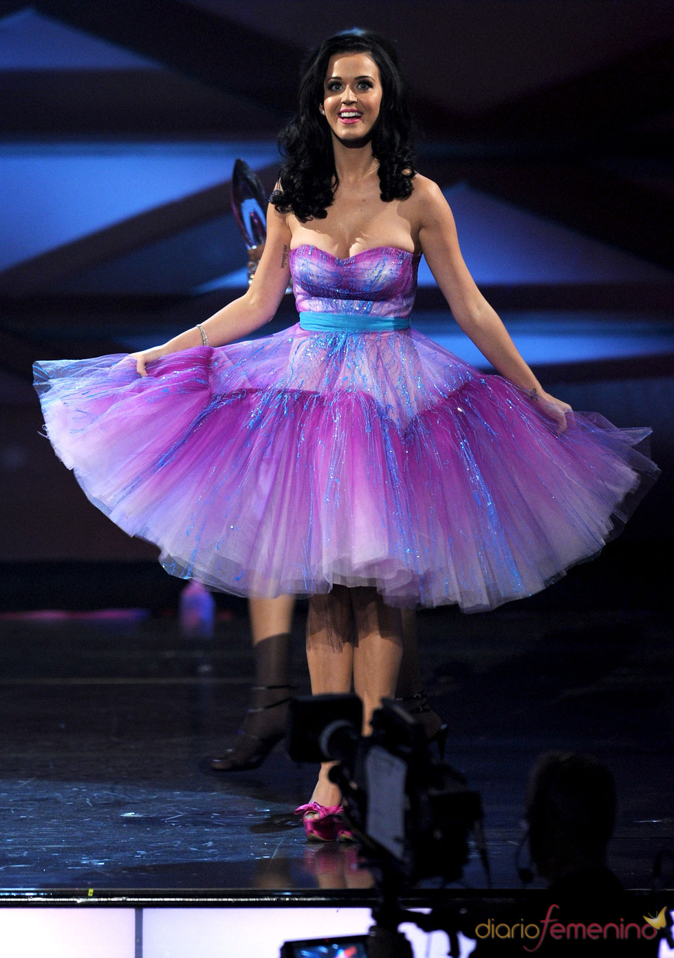 El vestido de Katy Perry en el People's Choice Awards 2011