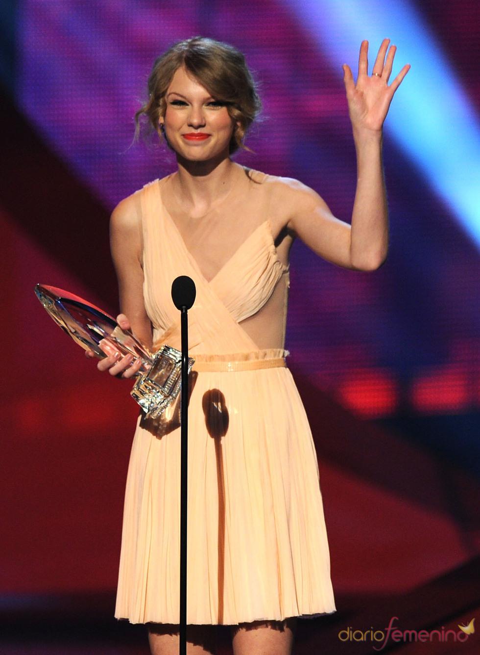 Taylor Swift en el People's Choice Awards 2011