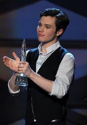 Chris Colfer de 'Glee' en el People's Choice Awards 2011
