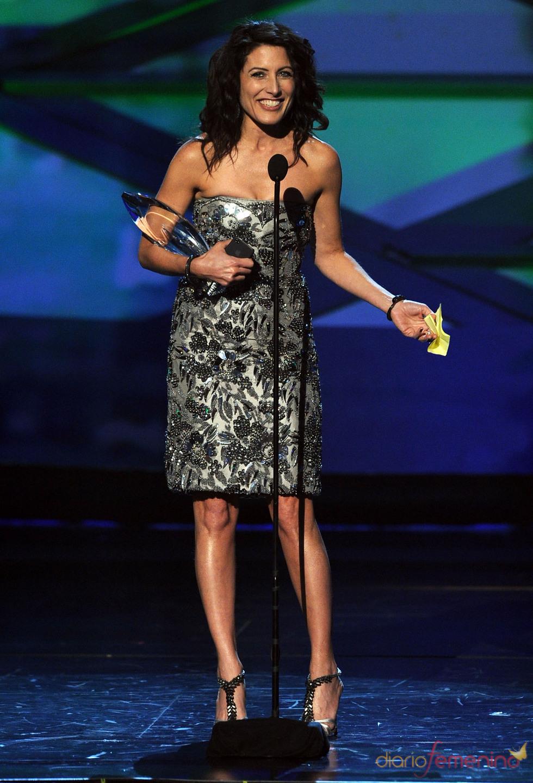 Lisa Edelstein de 'House' en el People's Choice Awards 2011