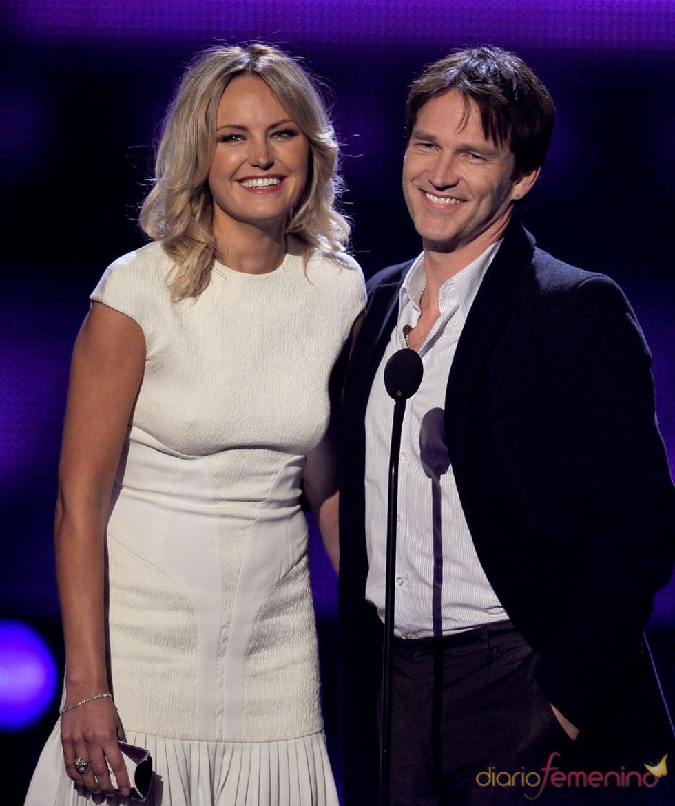 Malin Akerman y Stephen Moyer el People's Choice Awards 2011
