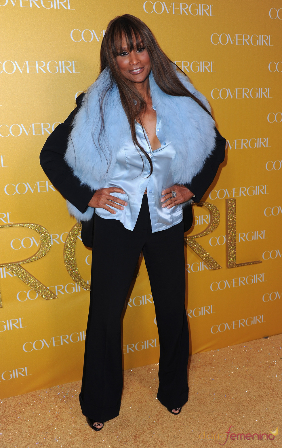 Beverly Johnson en la Fiesta Covergirl