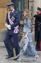 Los Príncipes de Asturias en la Pascua Militar