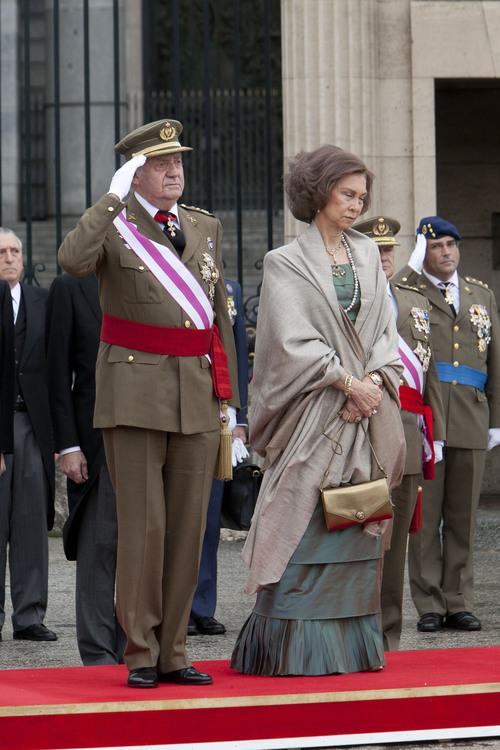 Los Reyes en la Pascua Militar