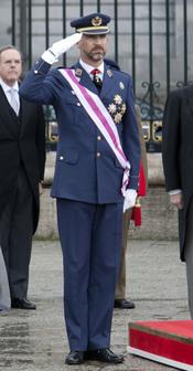 El Príncipe Felipe en la Pascua Militar