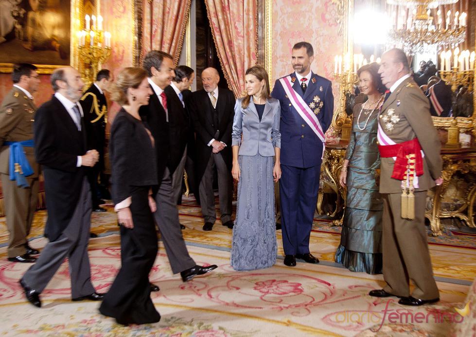 Los Reyes y los Príncipes en la Pascua Militar