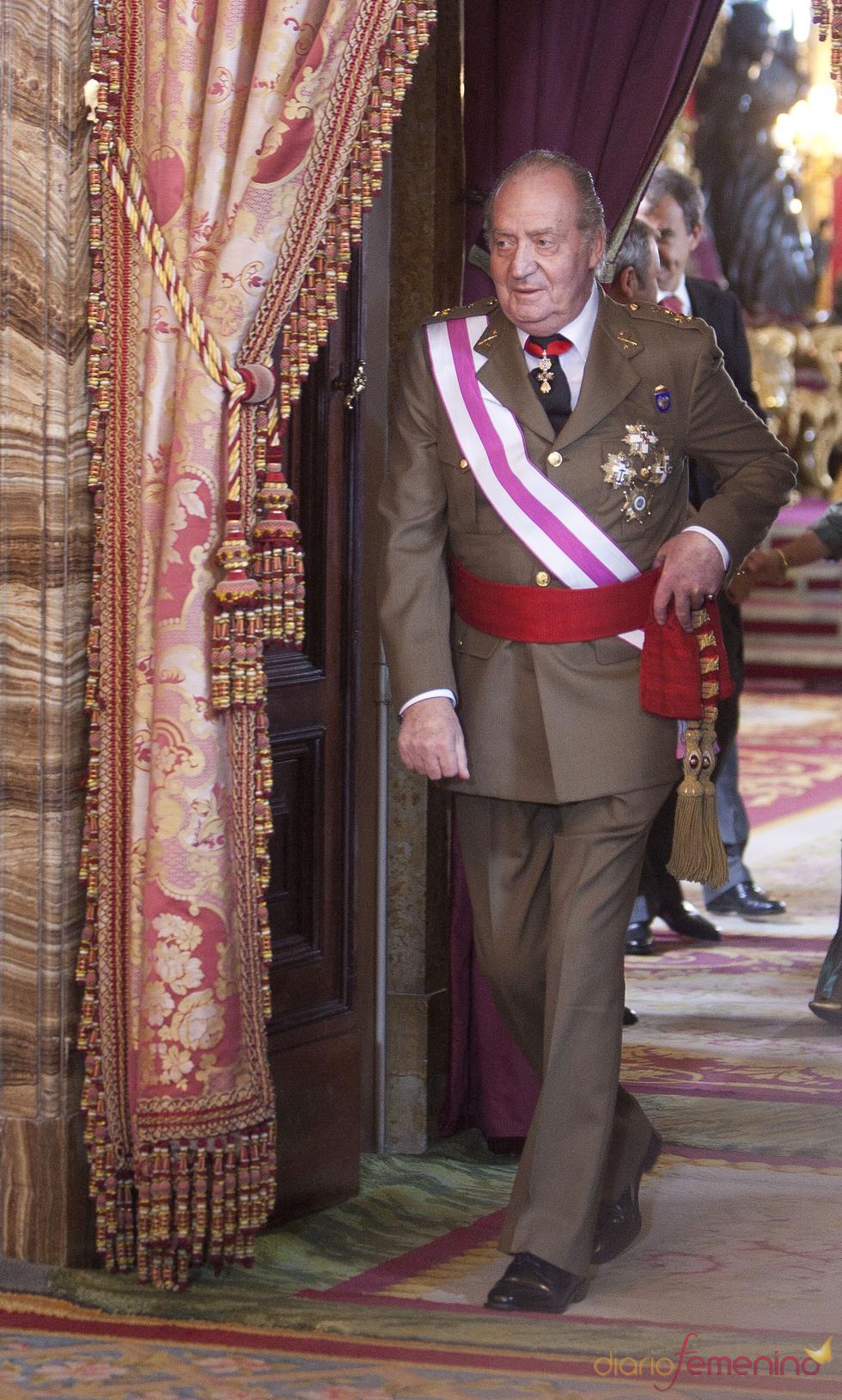 El Rey Juan Carlos en la Pascua Militar