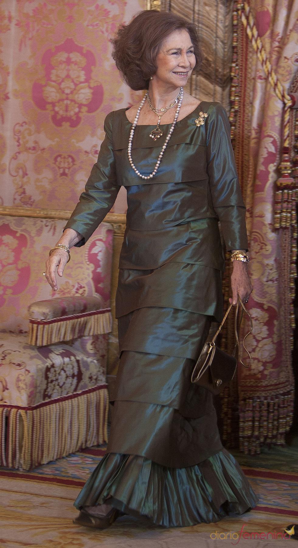 La Reina Sofía en la Pascua Militar