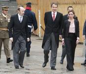 Zapatero, Rubalcaba y Chacón en la Pascua Militar