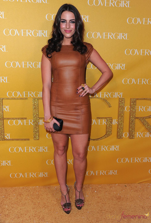 Jessica Lowndes en la Fiesta Covergirl