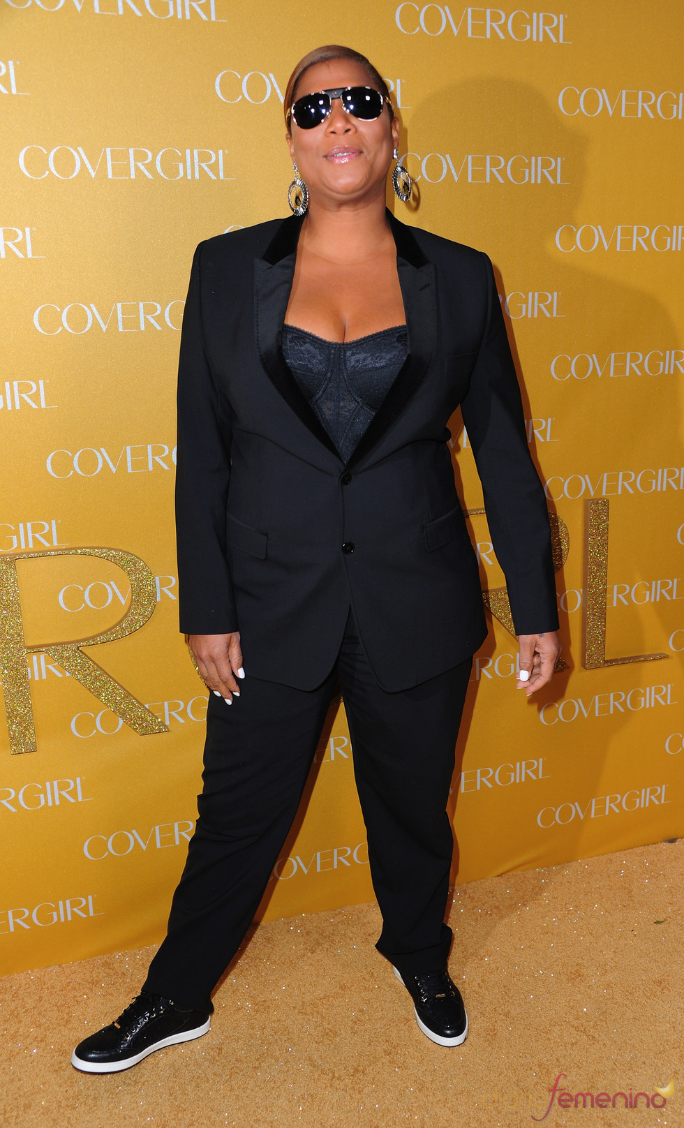 Queen Latifah en la Fiesta Covergirl