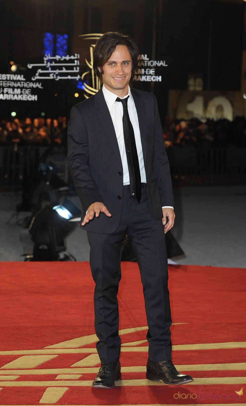 Gael García Bernal en el Marrakech Film Festival