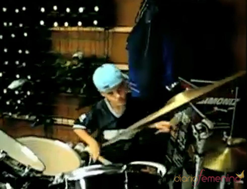 Justin Bieber, pasión por la música