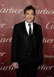 Javier Bardem recibe un premio en el Festival de Cine de Palm Springs