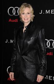 Jane Lynch en la Semana de los Globos de Oro 2011