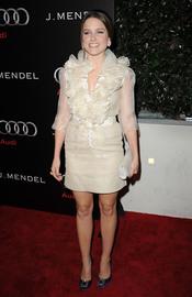 Sophia Bush en la Semana de los Globos de Oro 2011