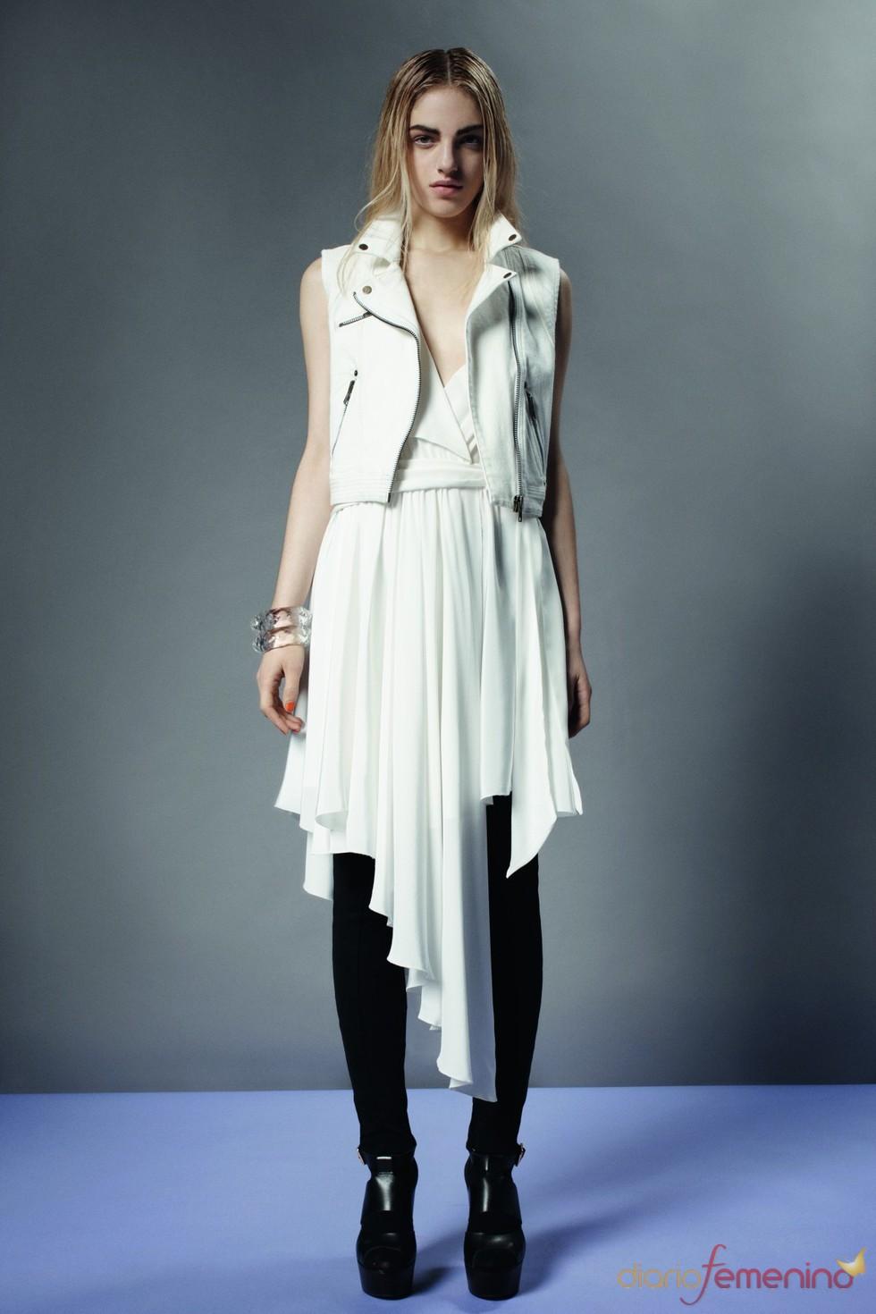 Look black & white de Topshop p/v 2011