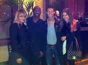 Irina Shayk y Cristano Ronaldo, de cena con unos amigos
