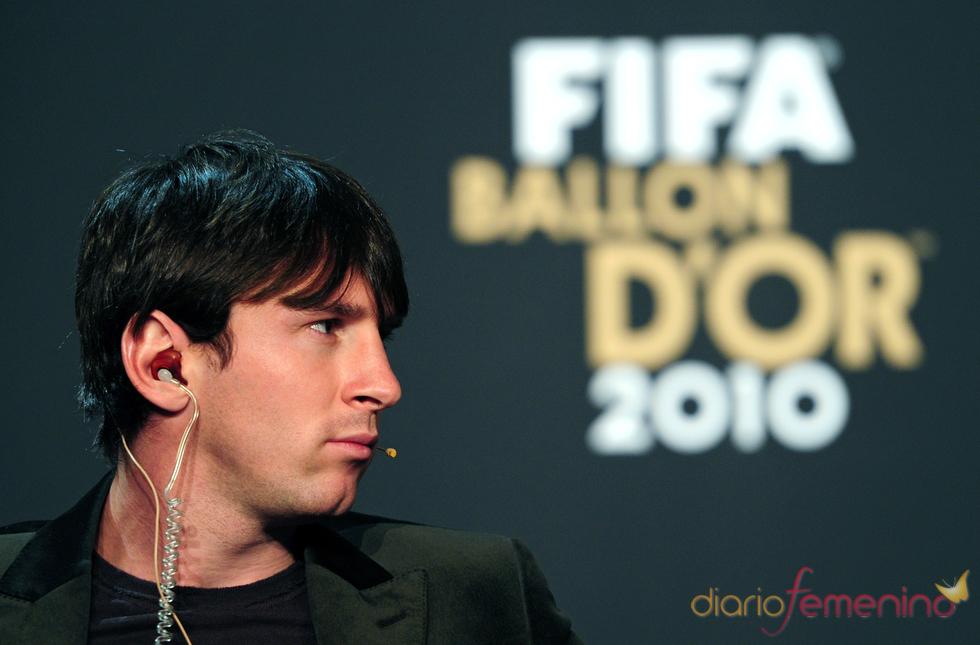 Leo Messi, finalista del Balón de Oro 2010