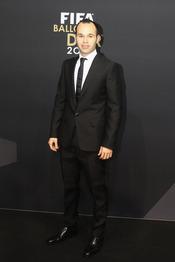 Andrés Iniesta, minutos antes de la gala FIFA Balón de Oro 2010