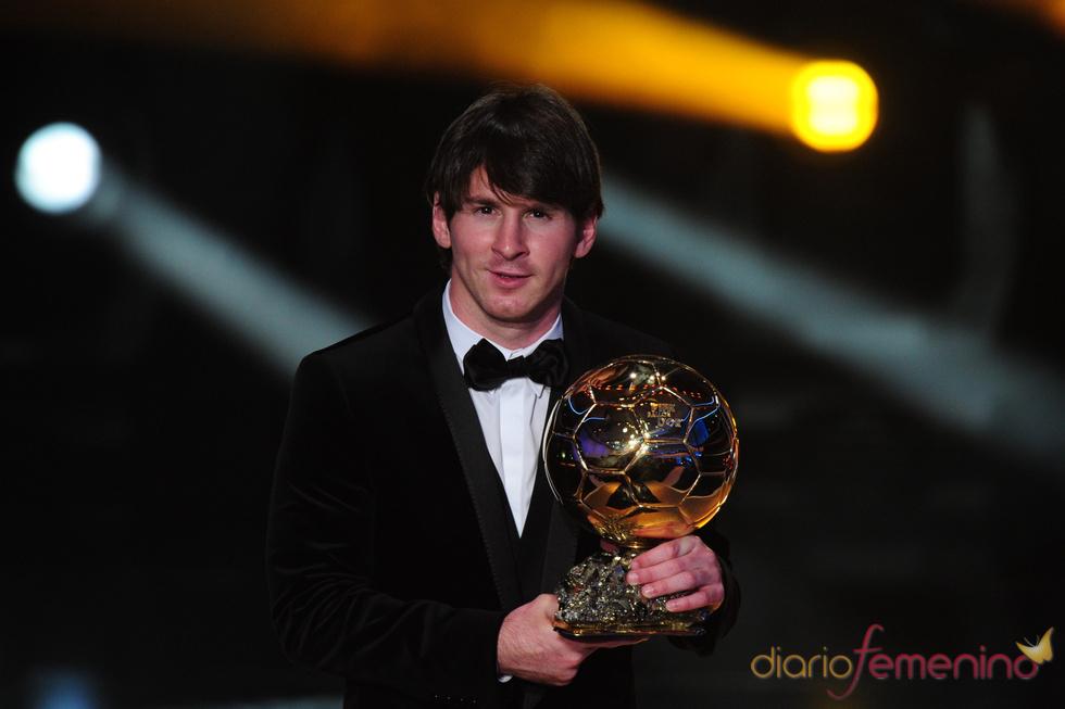 Leo Messi, con su segundo FIFA Balón de Oro