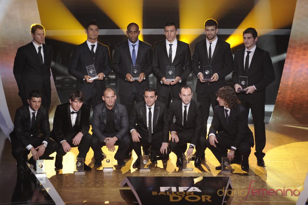El 'Once' perfecto, según la FIFA