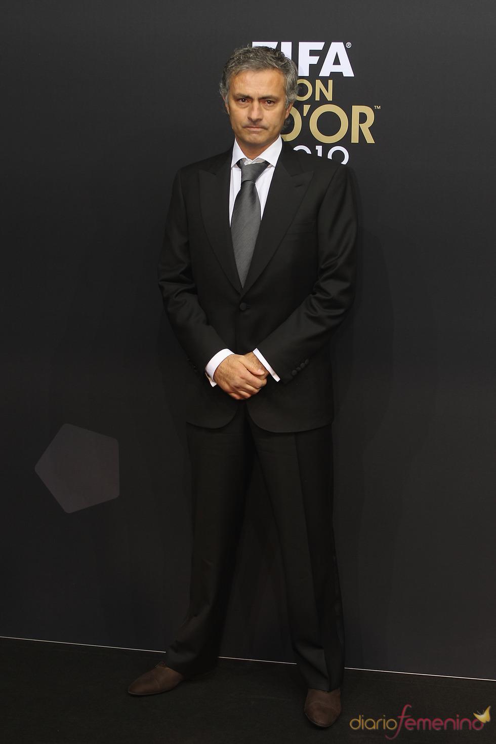 Jose Mourinho a su llegada a la gala FIFA Balón de Oro 2010