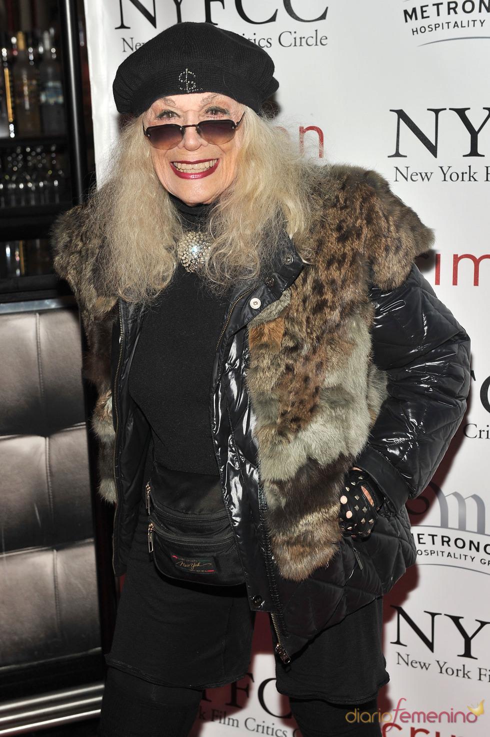 Sylvia Miles en la Gala de los Premios Critics 2011