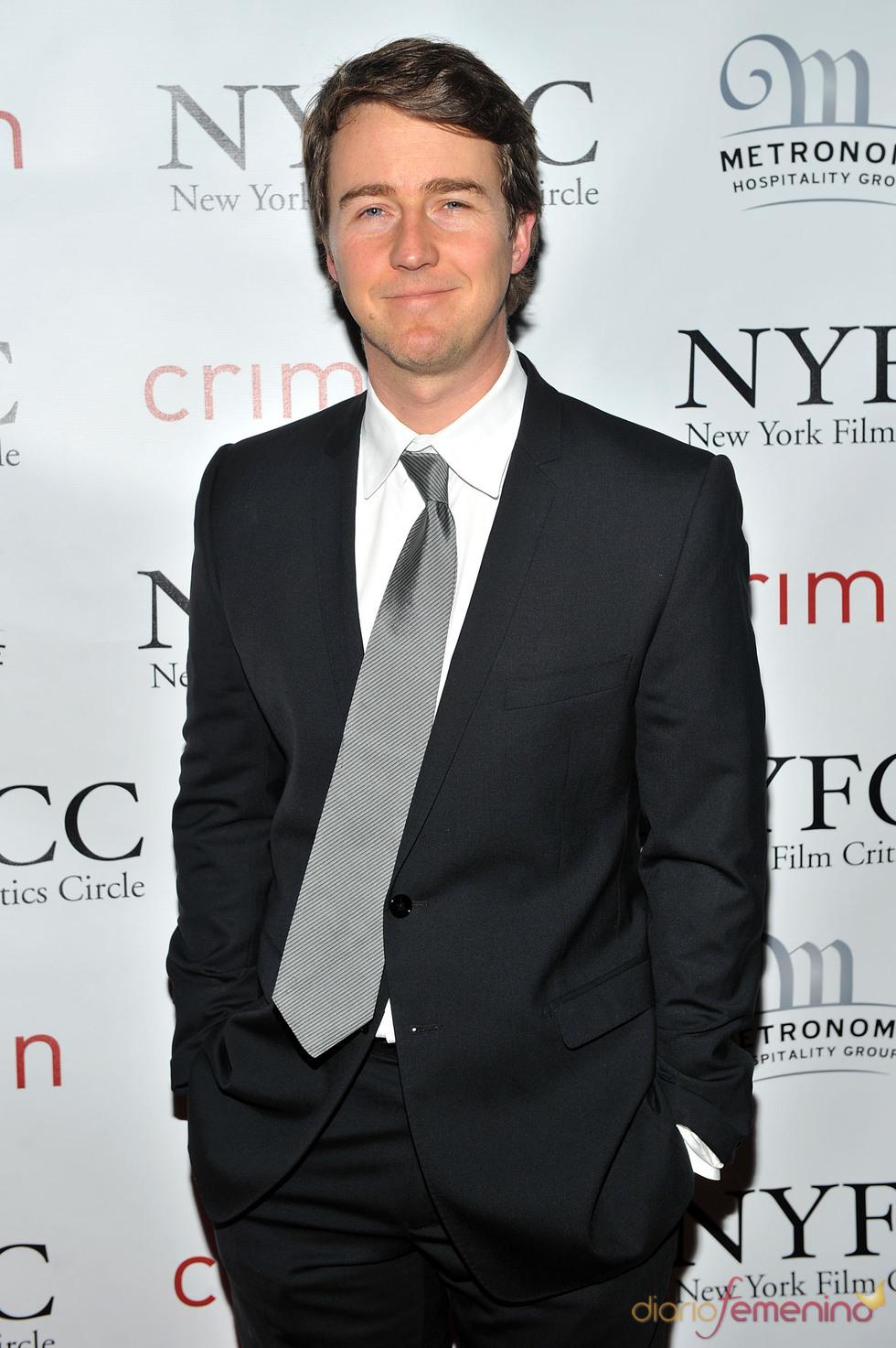 Edward Norton en la Gala de los Premios Critics 2011
