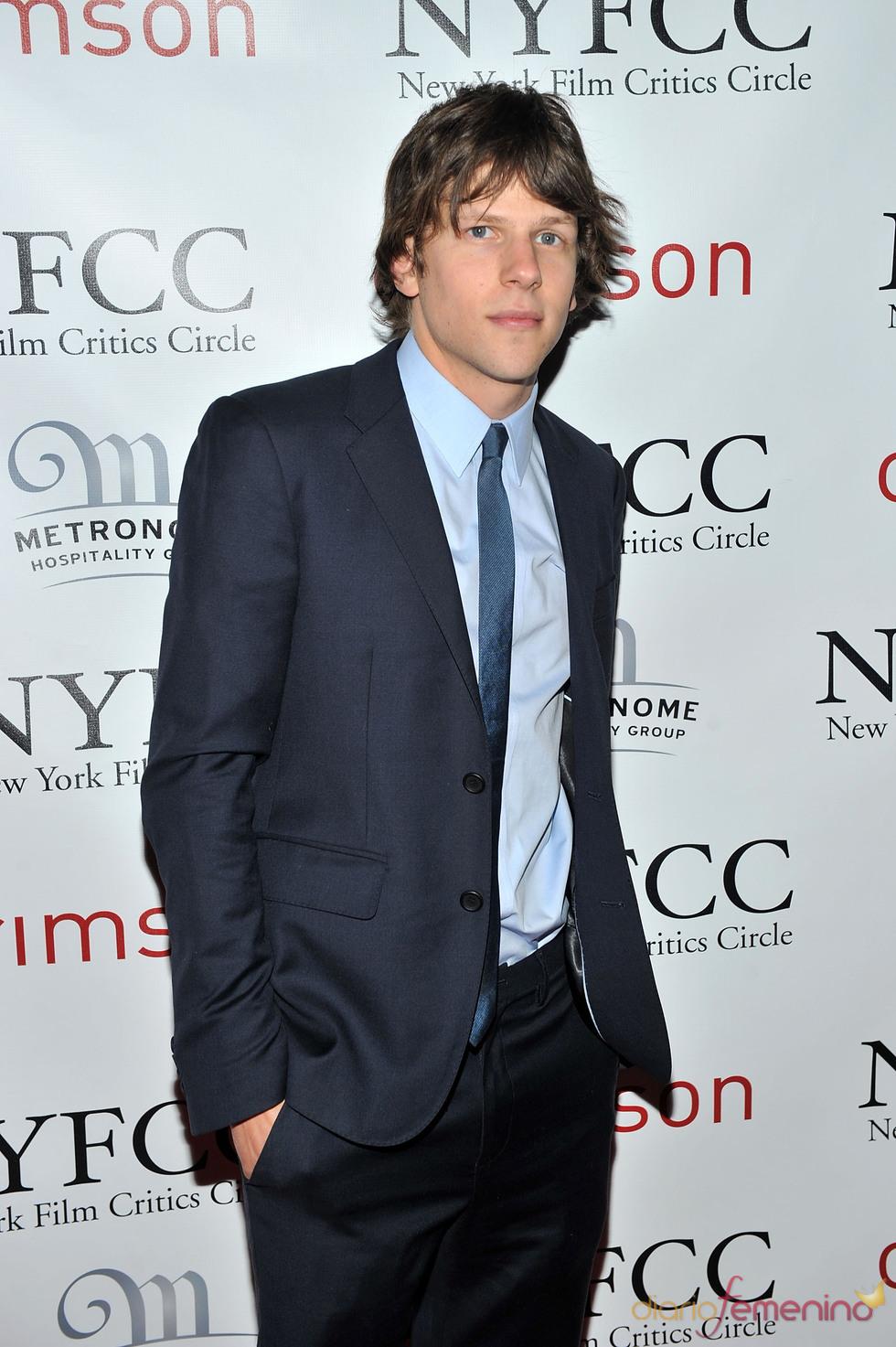 Jesse Eisenberg en la Gala de los Premios Critics 2011