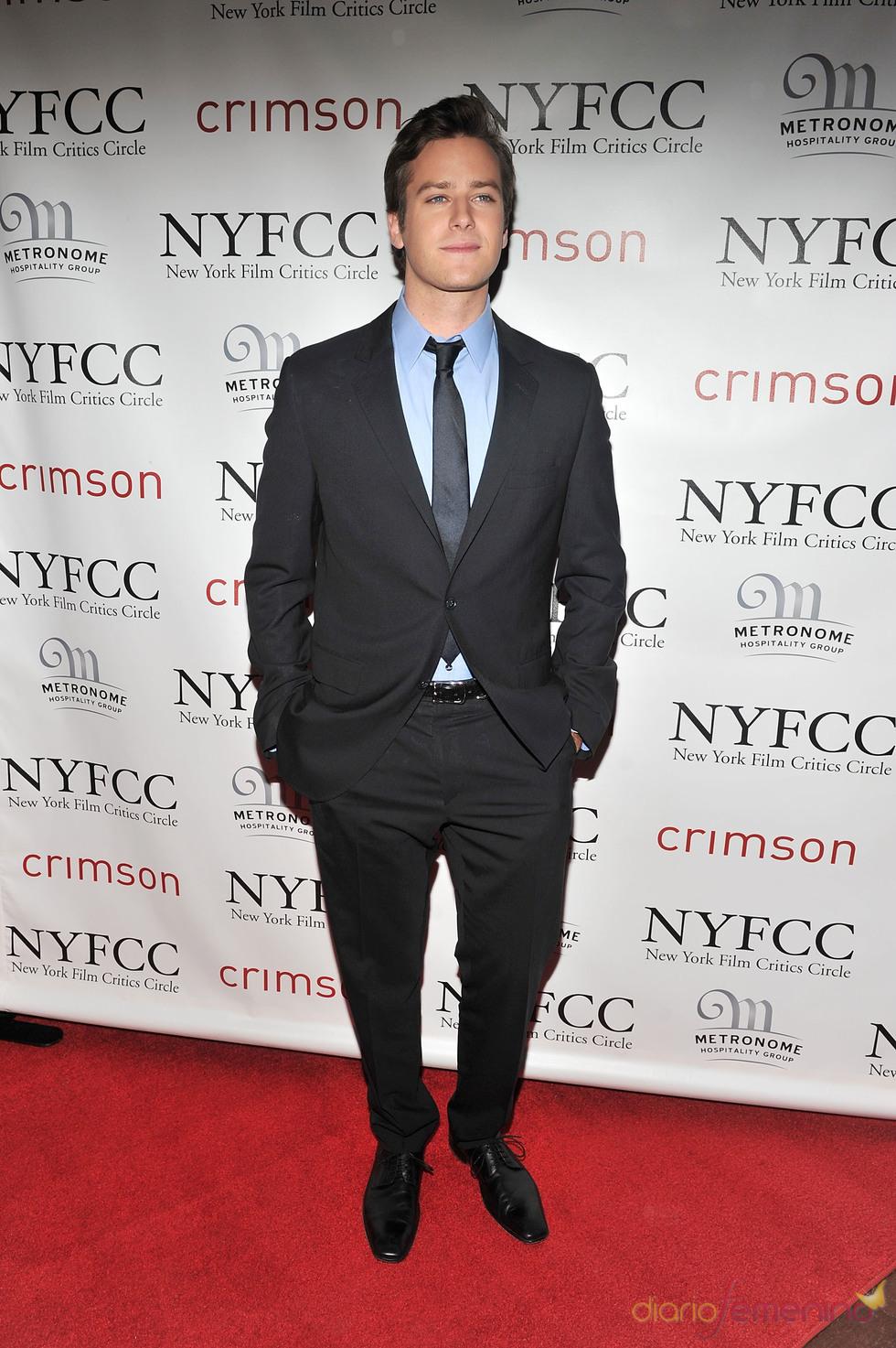 Armie Hammer en la Gala de los Premios Critics 2011