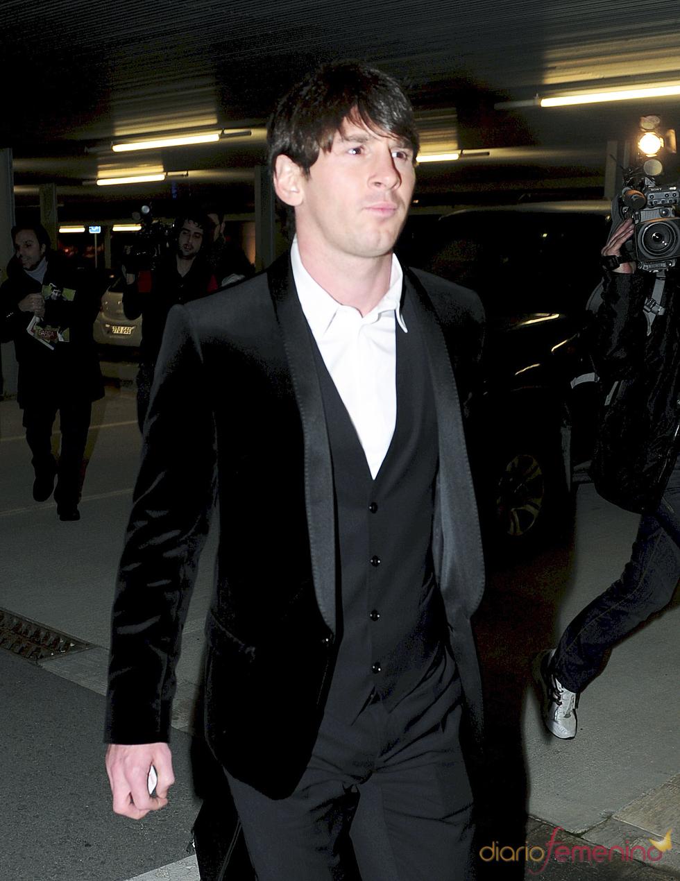 Leo Messi a su regreso a Barcelona
