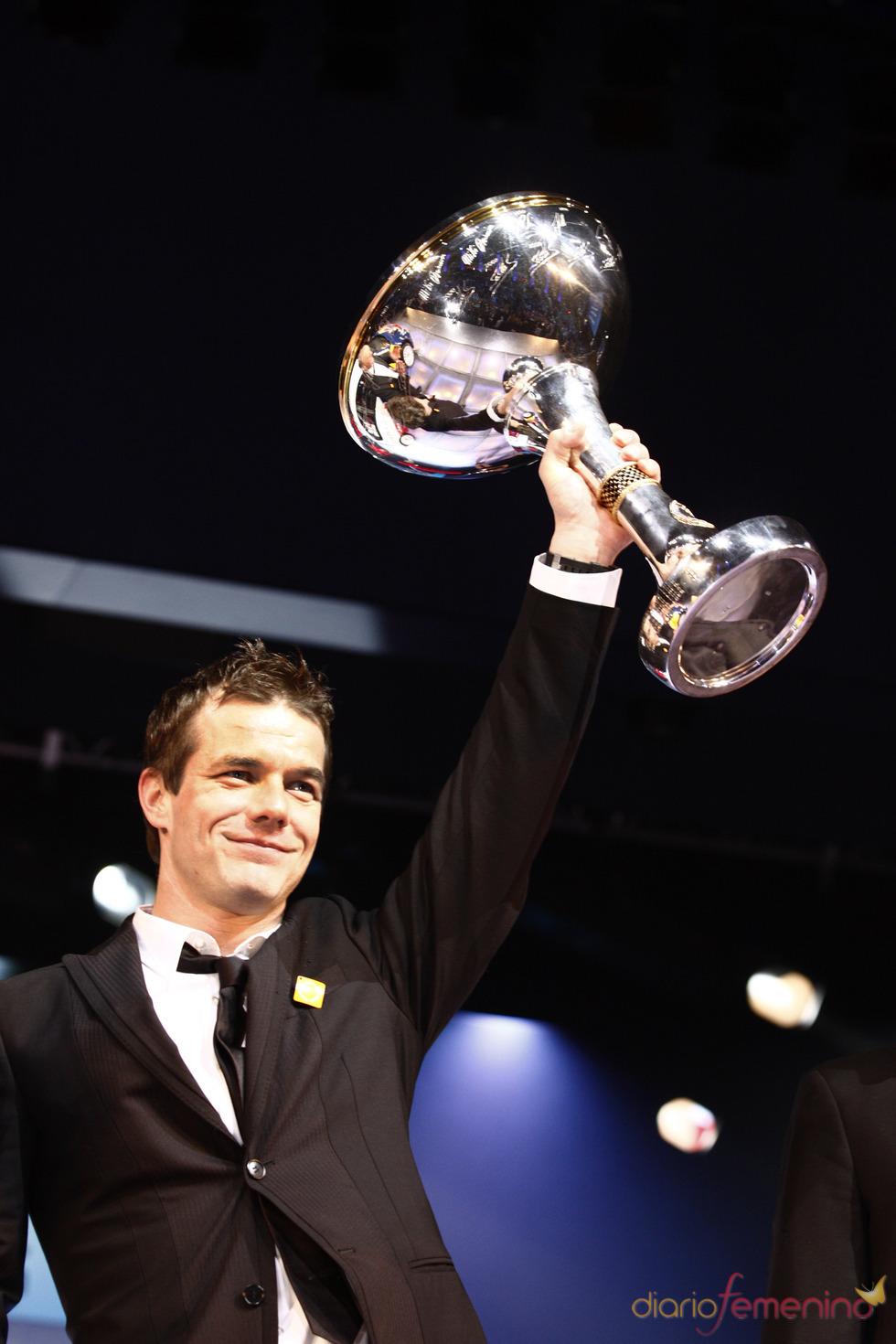 Sebastien Loeb, premiado por la FIA