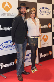 William Miller y Sonia Castelo de estreno
