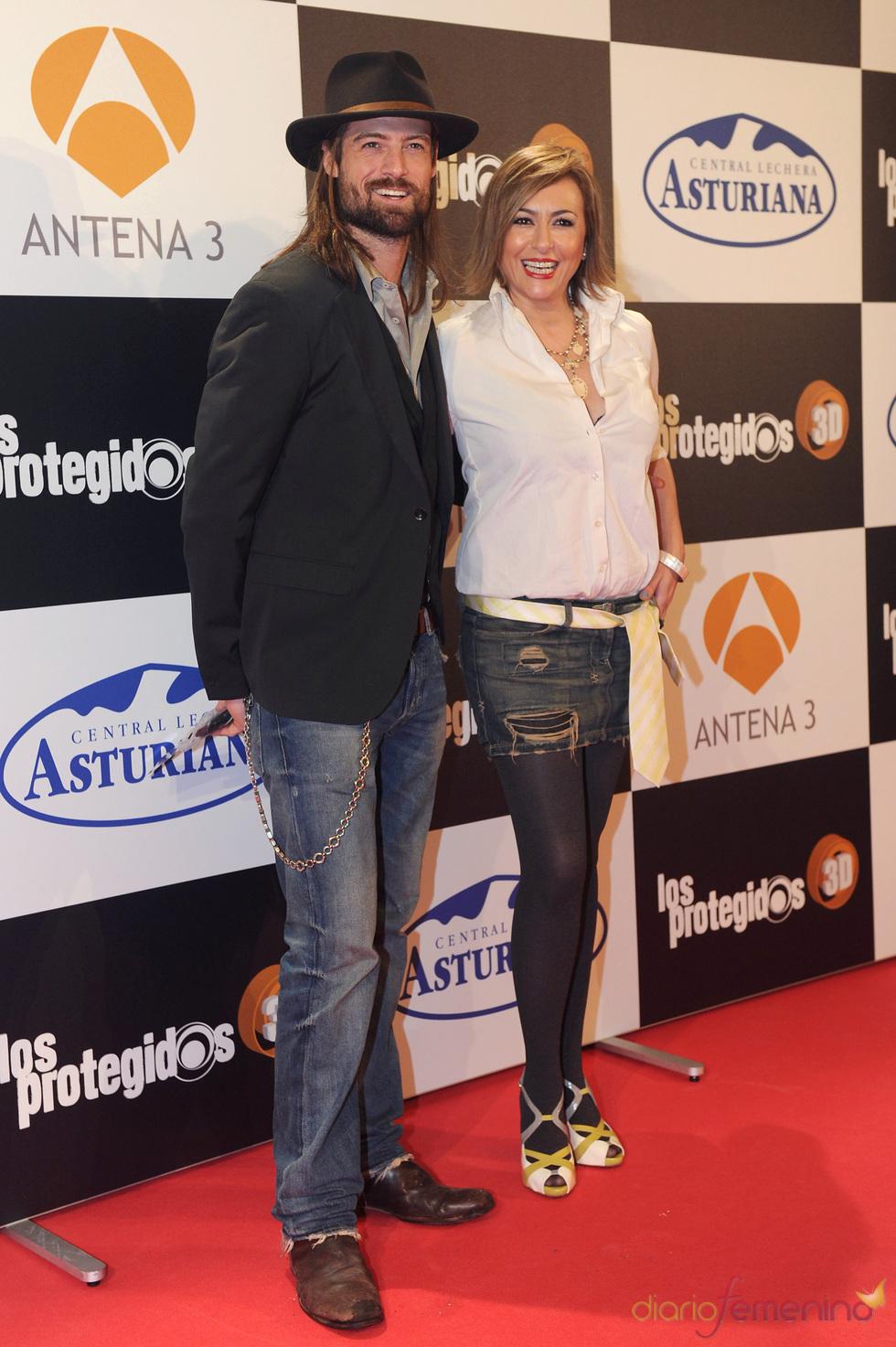 William Miller y Sonia Castelo de estreno