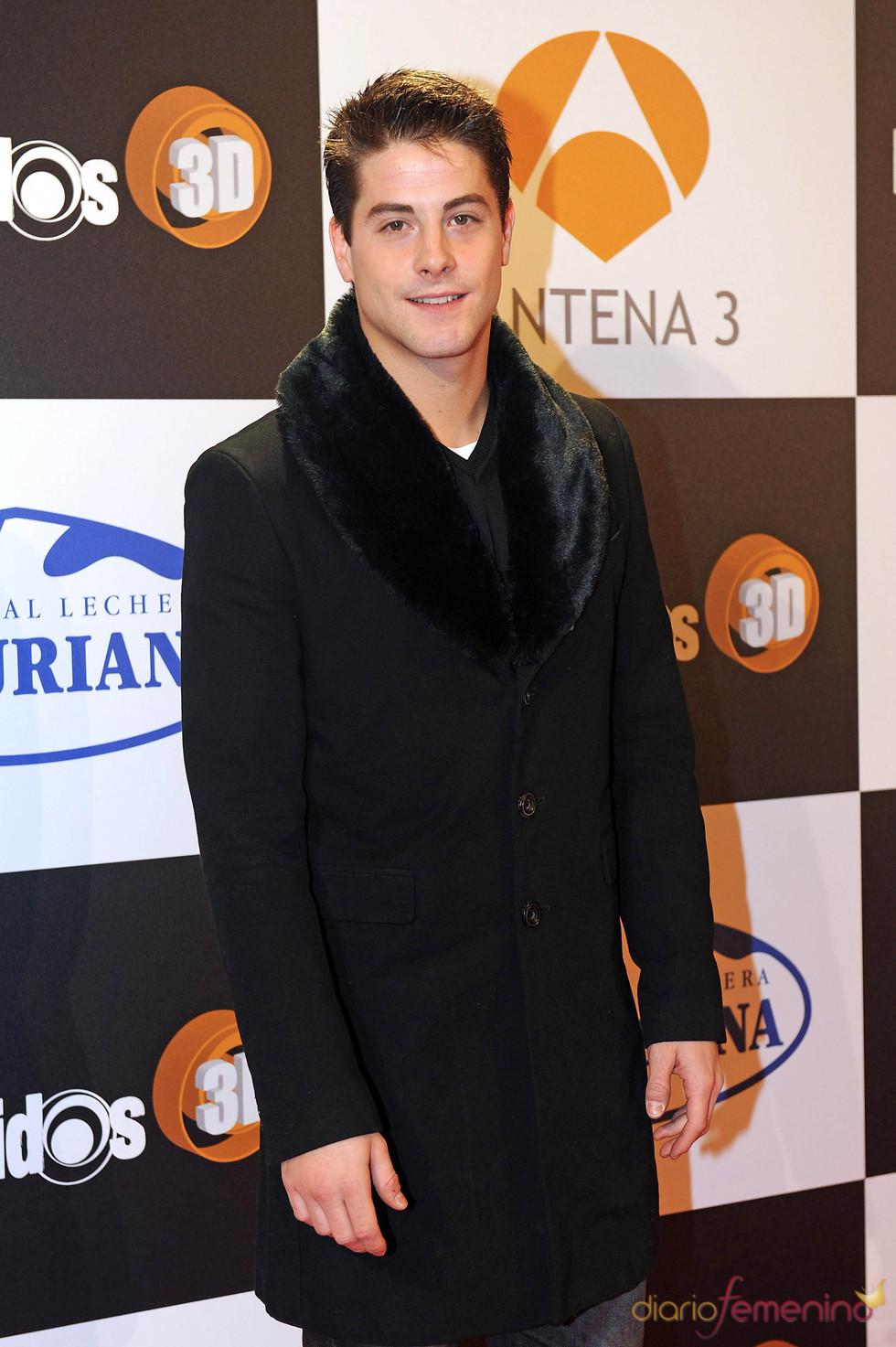 Luis Fernández en el estreno de la segunda temporada de 'Los protegidos'