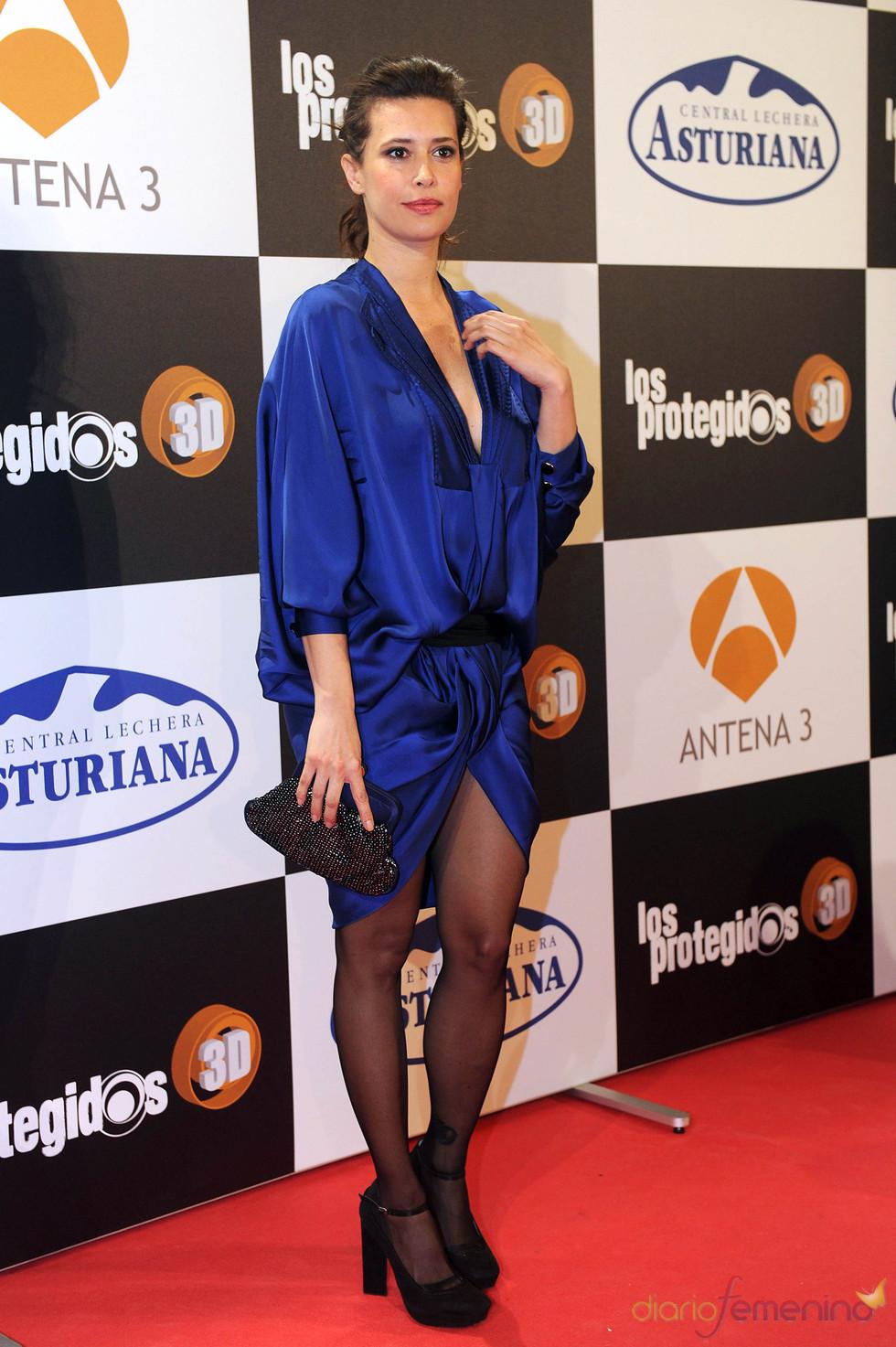 Angie Cepeda en el estreno de la segunda temporada de 'Los protegidos'