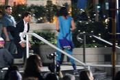 Tom Cruise en el rodaje de 'Misión Imposible 4' en Vancouver