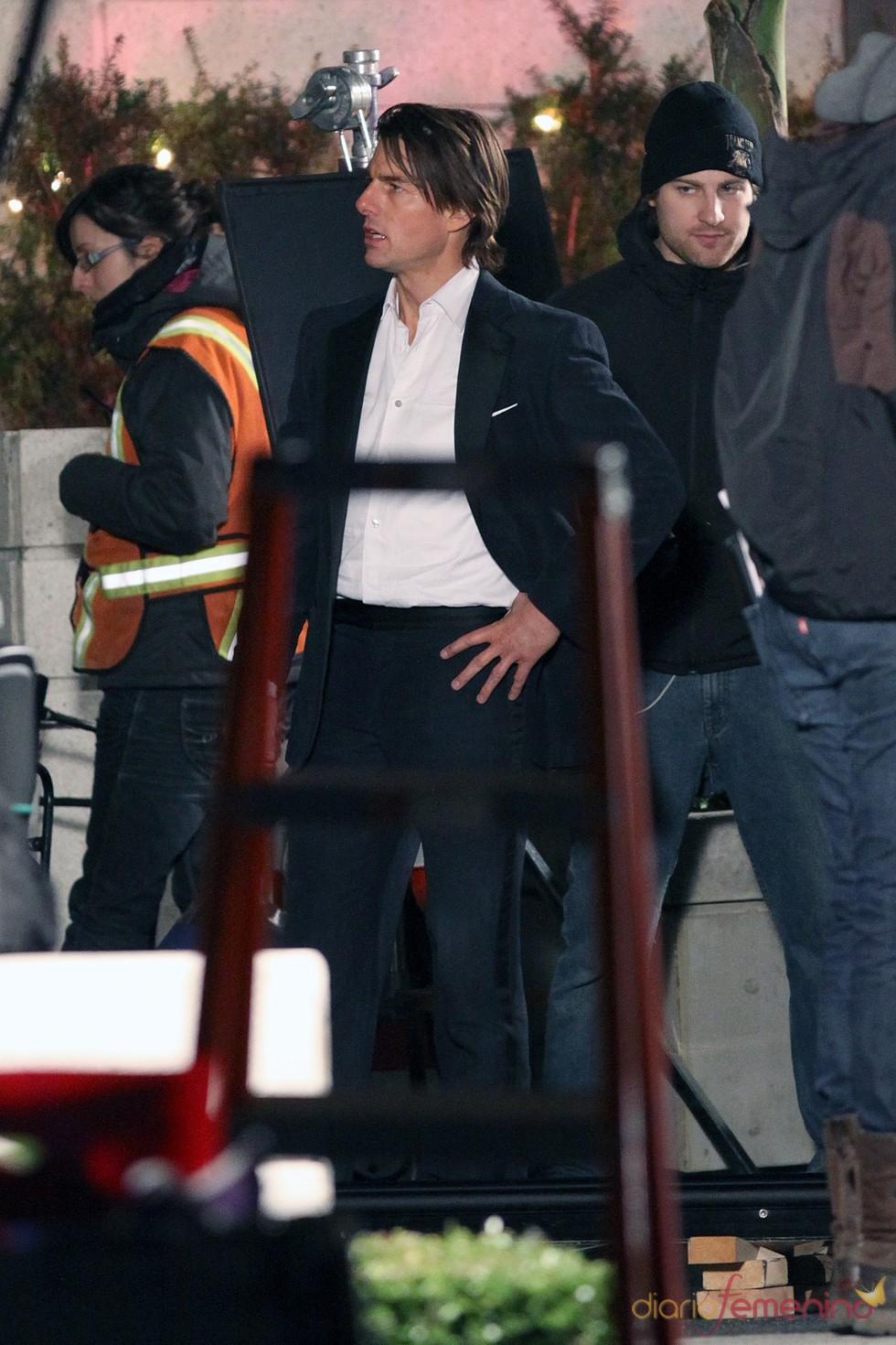 Tom Cruise rueda en Vancouver 'Misión Imposible 4'